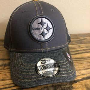 Pittsburgh Steelers Youth NEW HAT NEW ERA 39